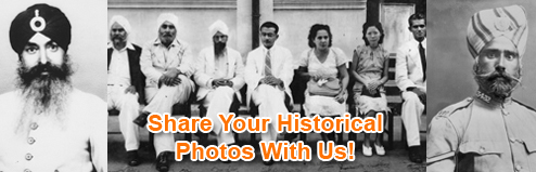 Historical photos of Sikhs